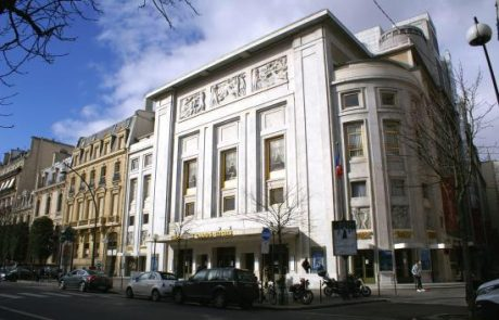 Teatro Champs Elysees arquiteto August Perret
