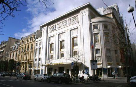 Teatro Champs Elysees arquiteto August Perret