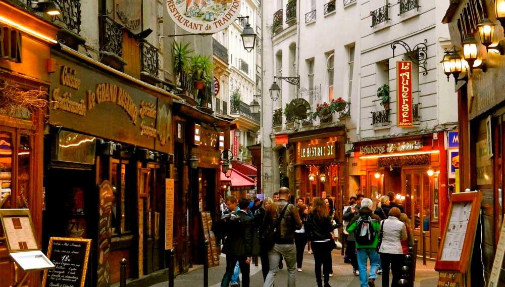 Tour Quartier Latin