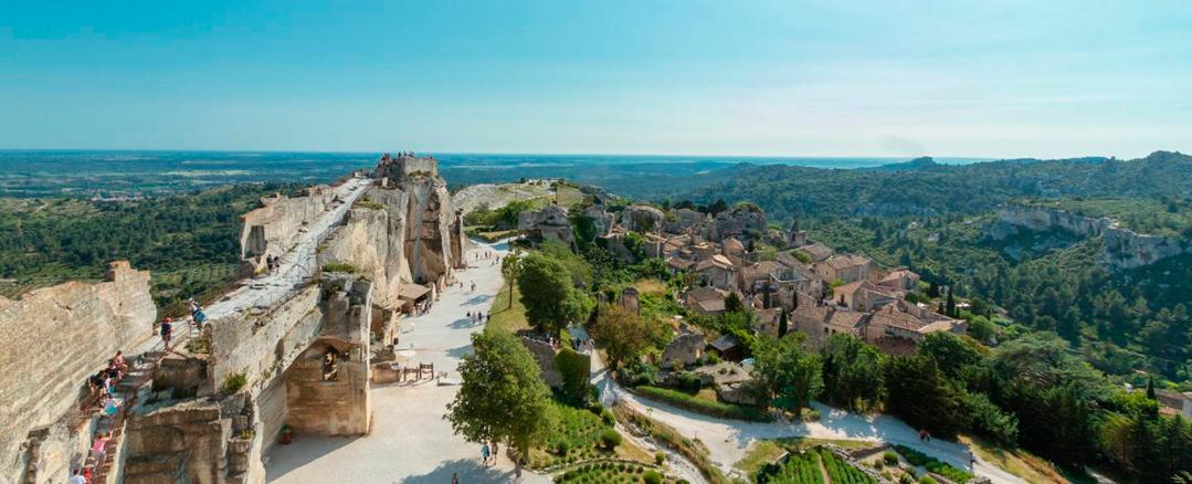Provence - Baux de Provence - França
