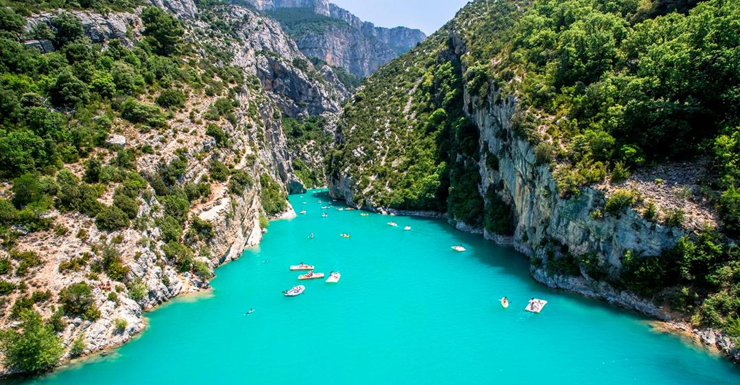 Provence- Gorges du Verdon -França
