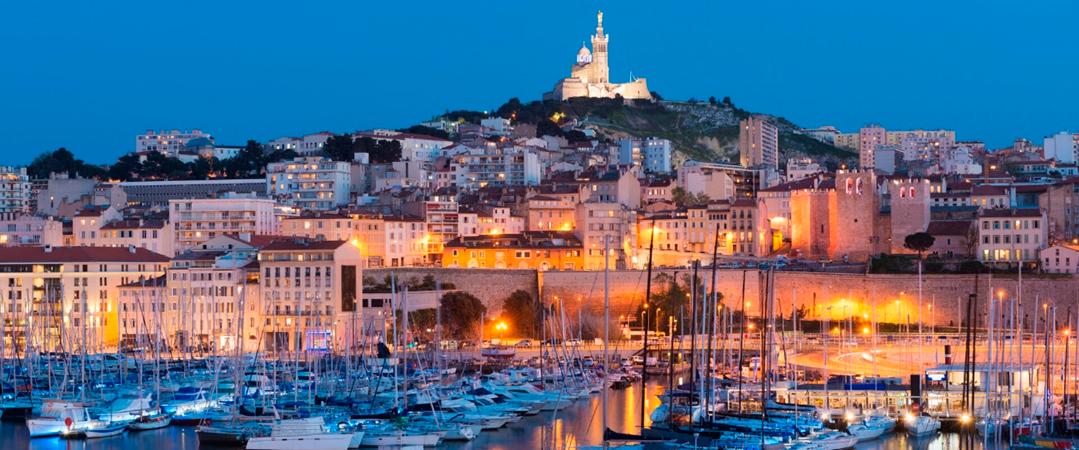 Região de Provence - Cidade de Marseille - França