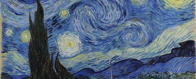 Noite Estrelada, 1889 - Vincent van Gogh